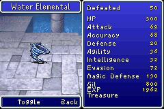 100 - Water Elemental