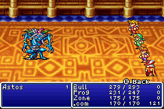 Final Fantasy I - Battale against the Dark Elf Astos