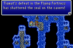 Tiamat's defeat in the Flying Fortress has shattered the seal on the cavern!