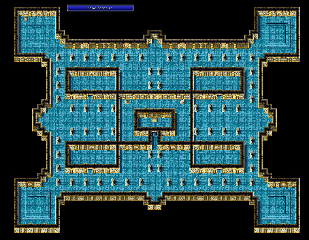 Chaos Shrine - 2F