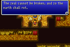 Final Fantasy I - Unless the seal is broken, the Earth will rot