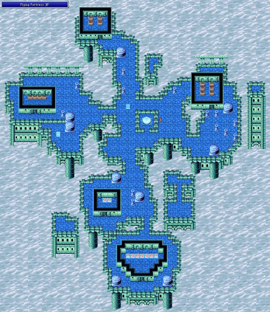Flying Fortress - 3F - Final Fantasy I Walkthrough