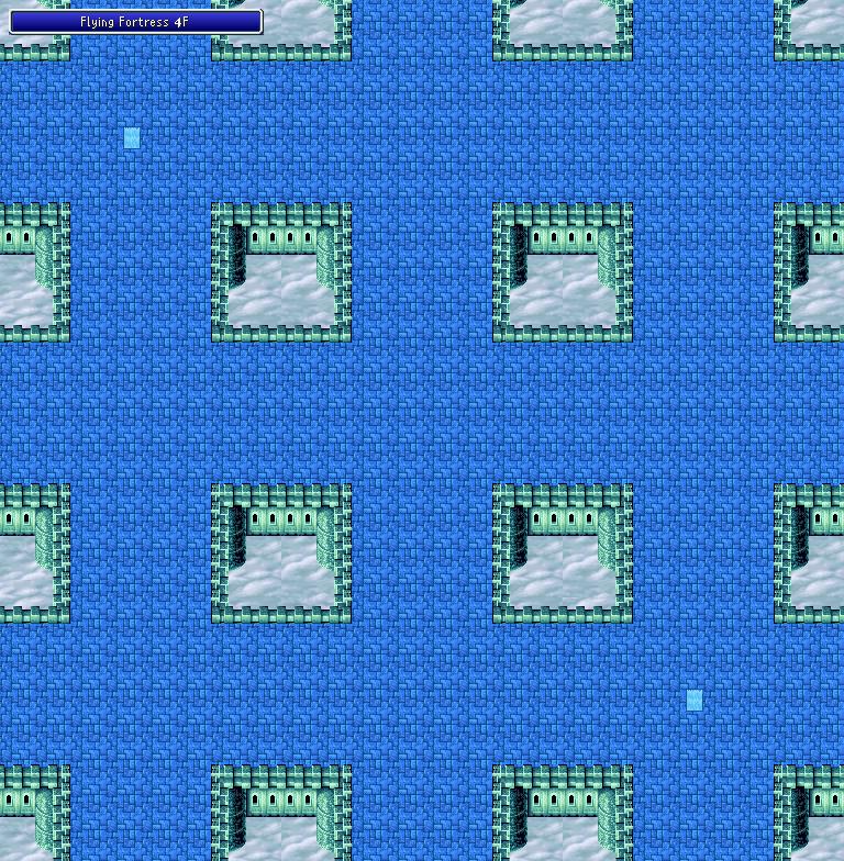 Flying Fortress - 4F - Final Fantasy I Walkthrough