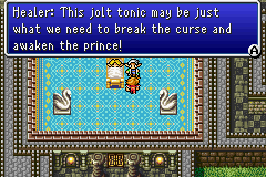 This jolt tonic may be just what we need to break the curse and awaken the prince!