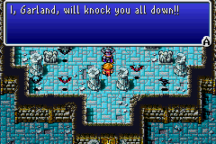 Final Fantasy I - I, Garland, will knock you all down!!