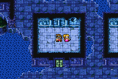 Final Fantasy I - There are many mermaids in the Sunken Shrine