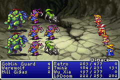 Final Fantasy I - Many tough battles await in the Cavern of Earth
