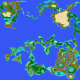 Final Fantasy I World Map