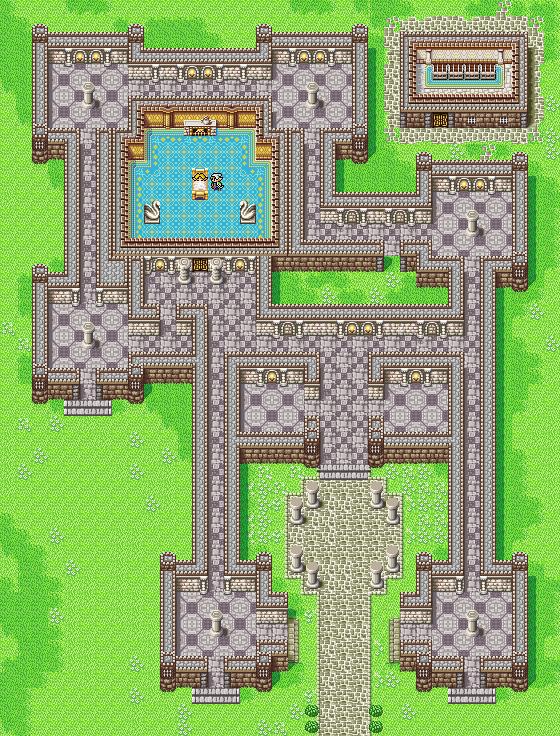 Elven Castle | Final Fantasy I
