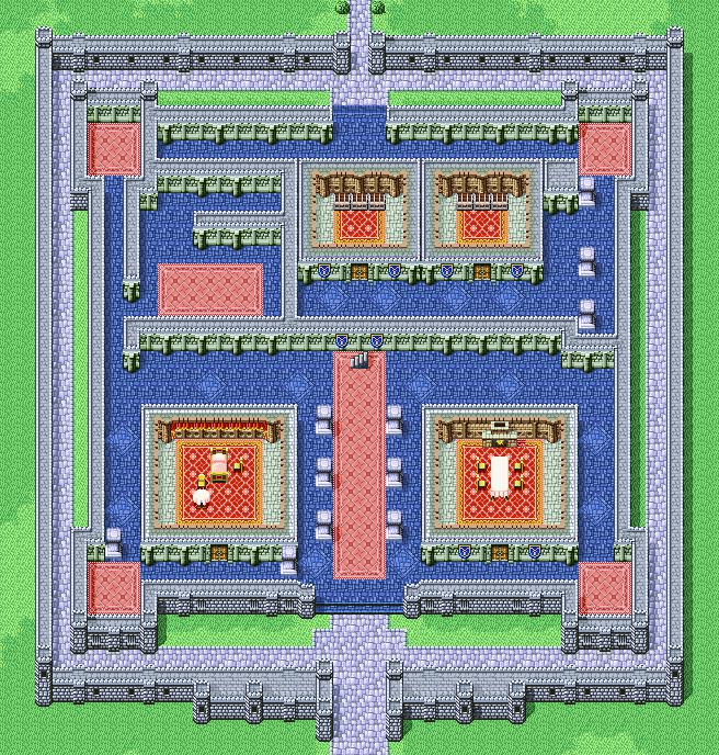 Castle Cornelia 1F | Final Fantasy I