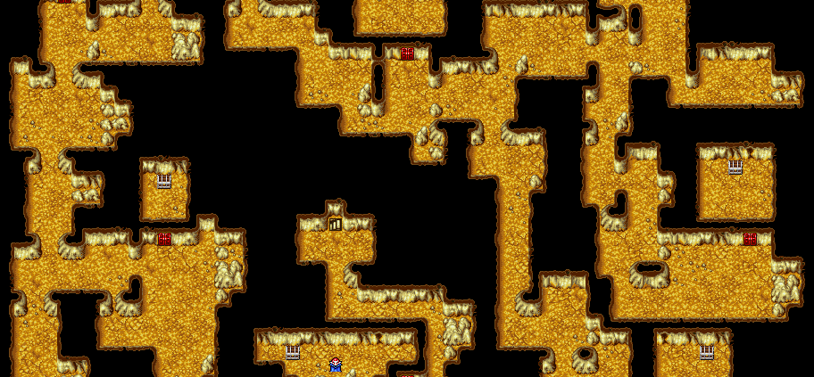 Ff1 Cavern Of Earth Map.Maps Archives Page 6 Of 7 Final Fantasy I Walkthrough