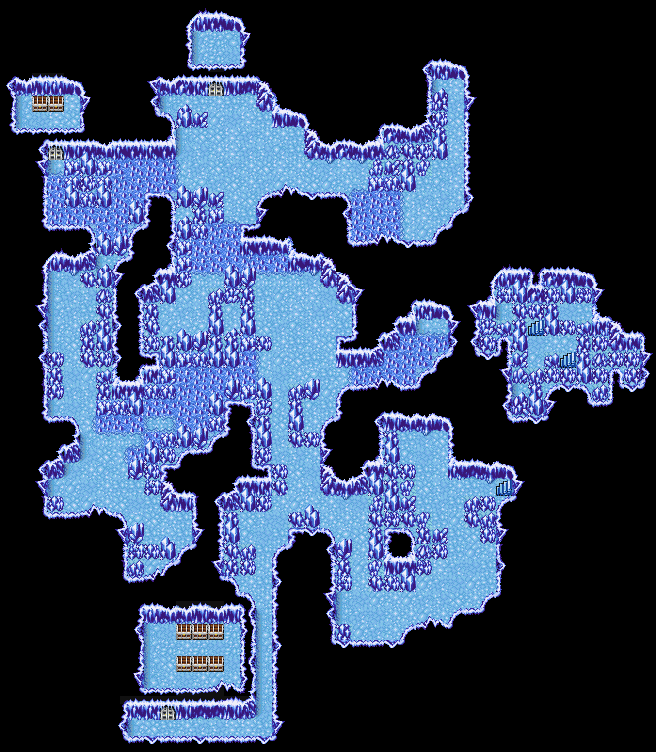 Ff1 Cavern Of Earth Map.Cavern Of Ice B3 Final Fantasy I Walkthrough