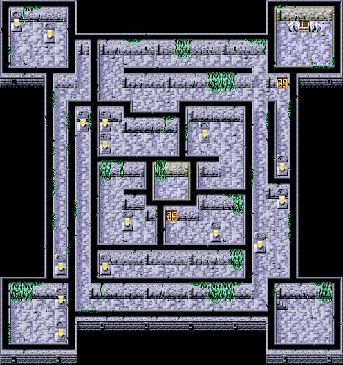 Citadel of Trials 2F - Final Fantasy I