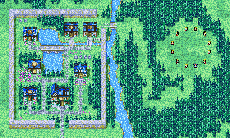 Crescent Lake - Final Fantasy I
