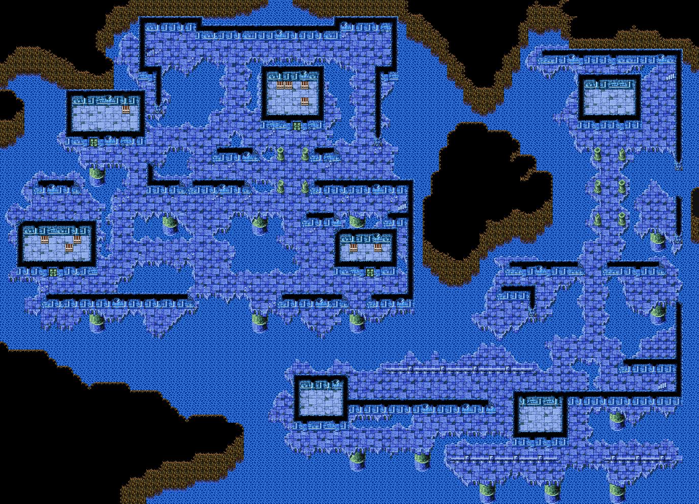 Sunken Shrine 2F | Final Fantasy I