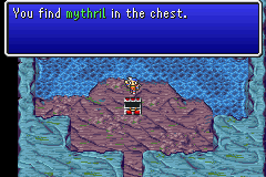 You find Mythril in the chest
