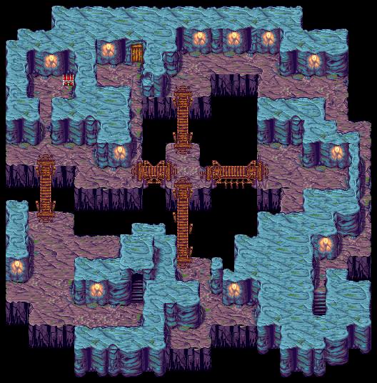 Semitt Falls B4 | Final Fantasy II